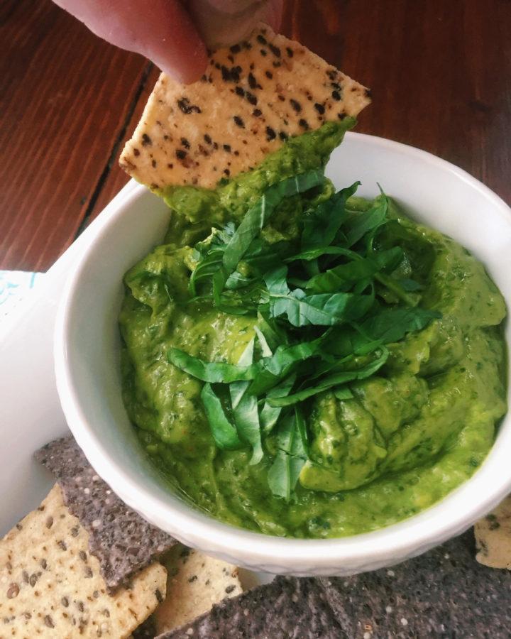 Avocado Pesto Dip / Katie Workman / themom100.com