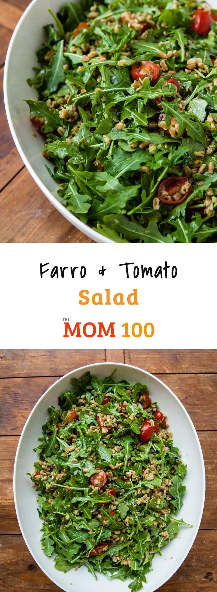 Farro and Tomato Salad