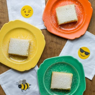 Lemon Squares / Sarah Crowder / Katie Workman / themom100.com