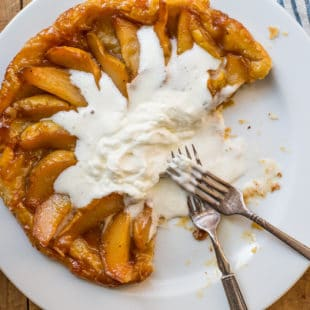 Pear Tart Tatin / Sarah Crowder / Katie Workman / themom100.com