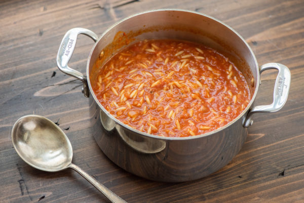 Tomato, Orzo and Dill Soup / Photo by Cheyenne Cohen / Katie Workman / themom100.com