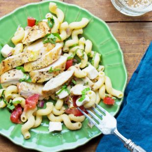 Perfect End of Summer Pasta Salad / Mandy Maxwell / Katie Workman / themom100.com