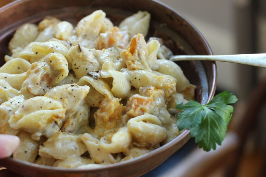 Cheesy Pasta Shells with Butternut Squash / Matthew Mead / Associated Press