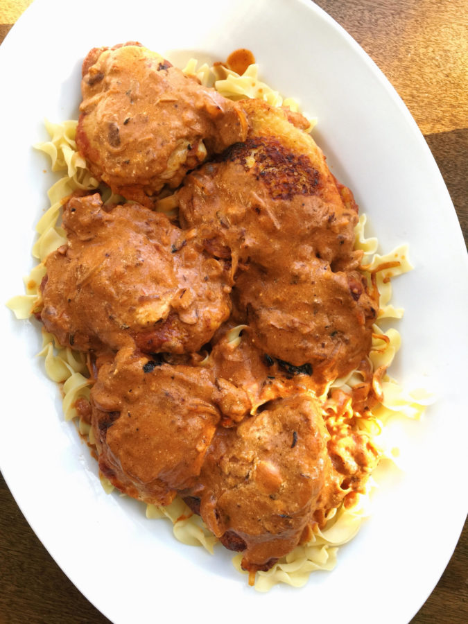 Chicken Paprikash / Katie Workman / themom100.com