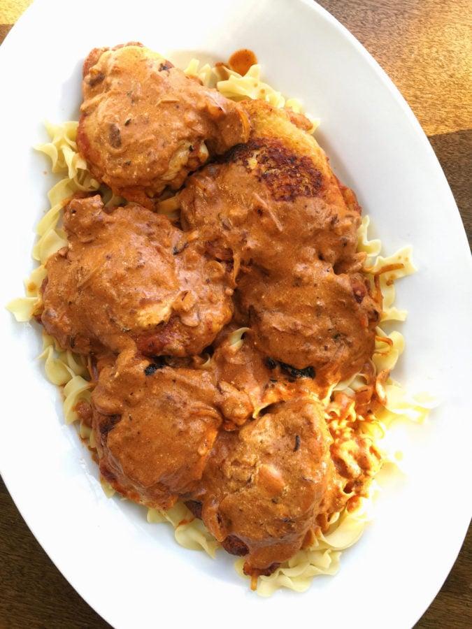 Chicken Paprikash / Katie Workman / themom100.com
