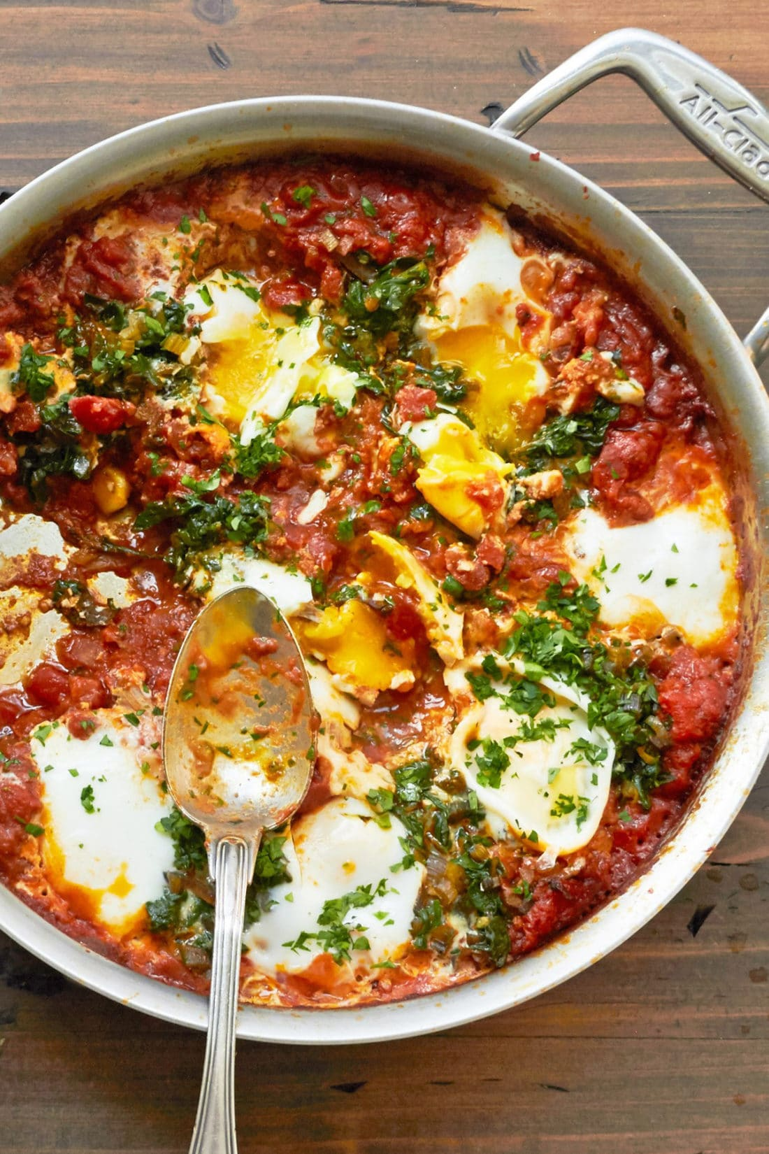 Shakshuka with Swiss Chard