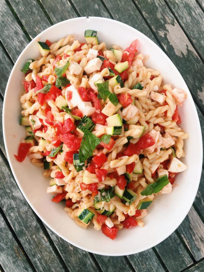 Summer Weekend Pasta Recipe — Dishmaps