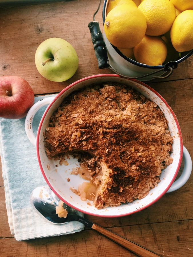 Our Favorite Apple Crisp / Katie Workman / themom100.com