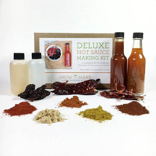 Deluxe Hot Sauce Making Kit