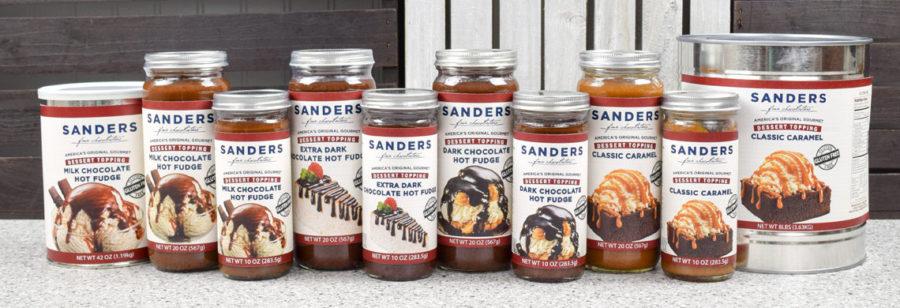 Sanders Sundae Best Assorted Dessert Toppings