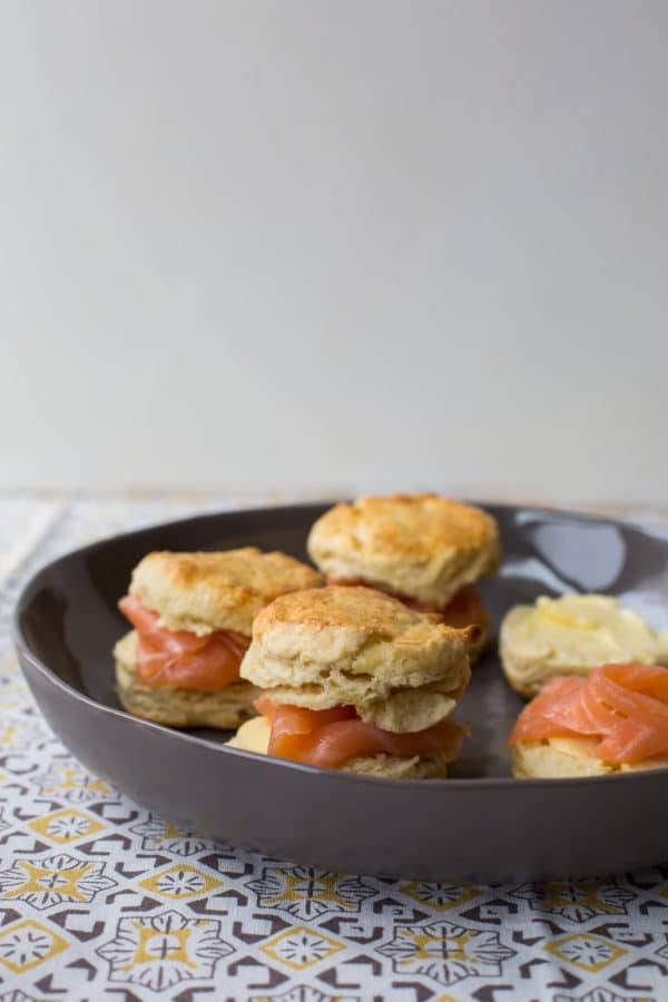 Irish Scones with Smoked Salmon / Sarah Crowder / Katie Workman / themom100.com
