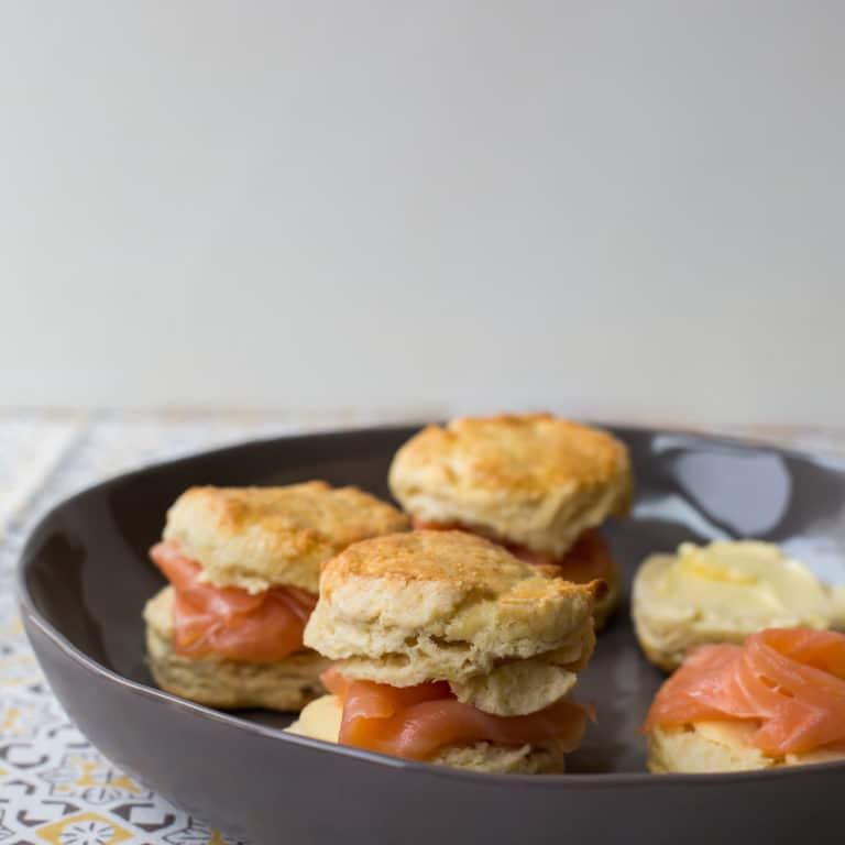 Irish Scones with Smoked Salmon / Sarah Crowder / Katie Workman / themom100.com