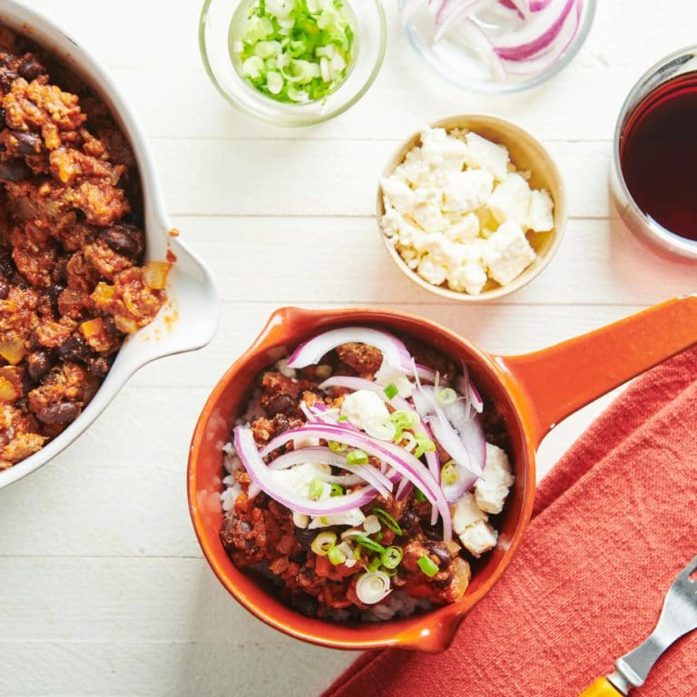 Beef, Black Bean and Jalapeno Chili