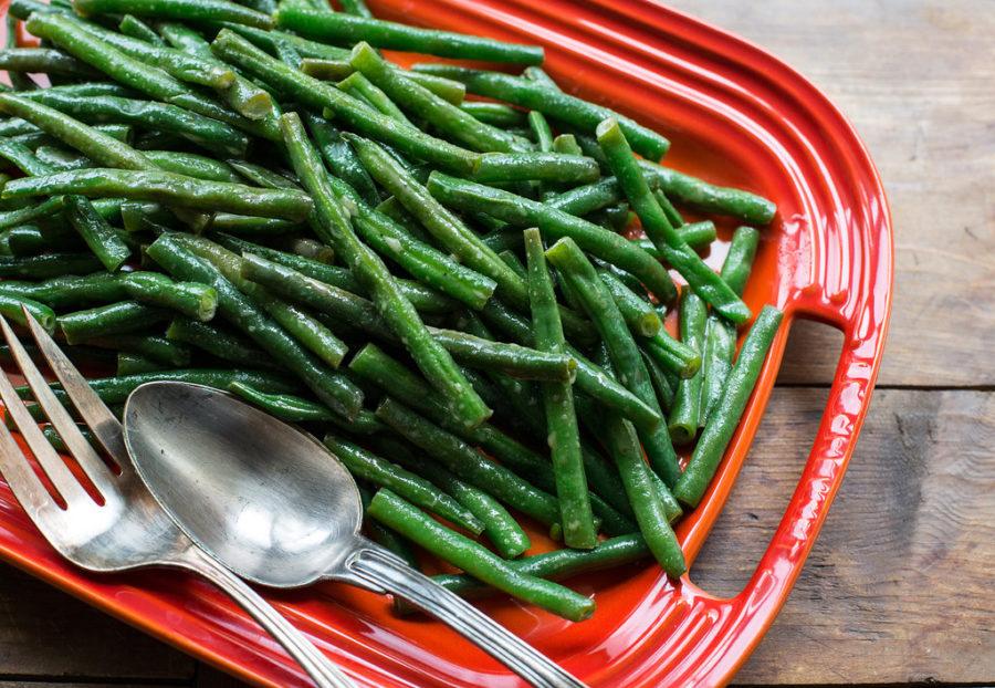 Honey Creole Mustard Green Beans / Sarah Crowder / Katie Workman / themom100.com