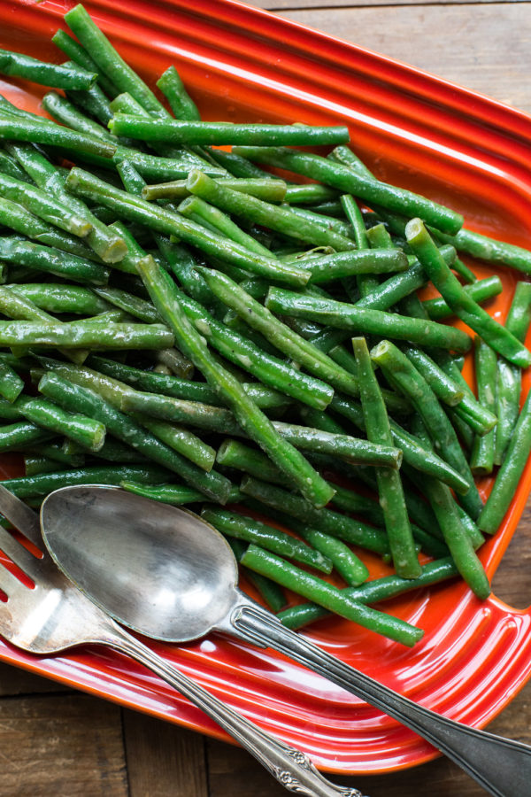 Honey Creole Mustard Green Beans / Sarah Crowder / Katie Workman / themom100.com