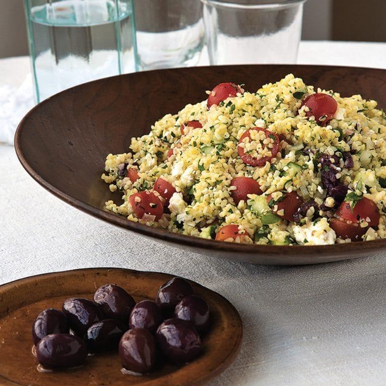 Greek Tabbouleh Salad / Todd Coleman / Katie Workman / themom100.com