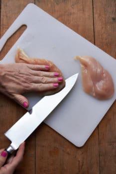 Chicken with Arugula and Mustard Pan Sauce / Mia / Katie Workman / themom100.com