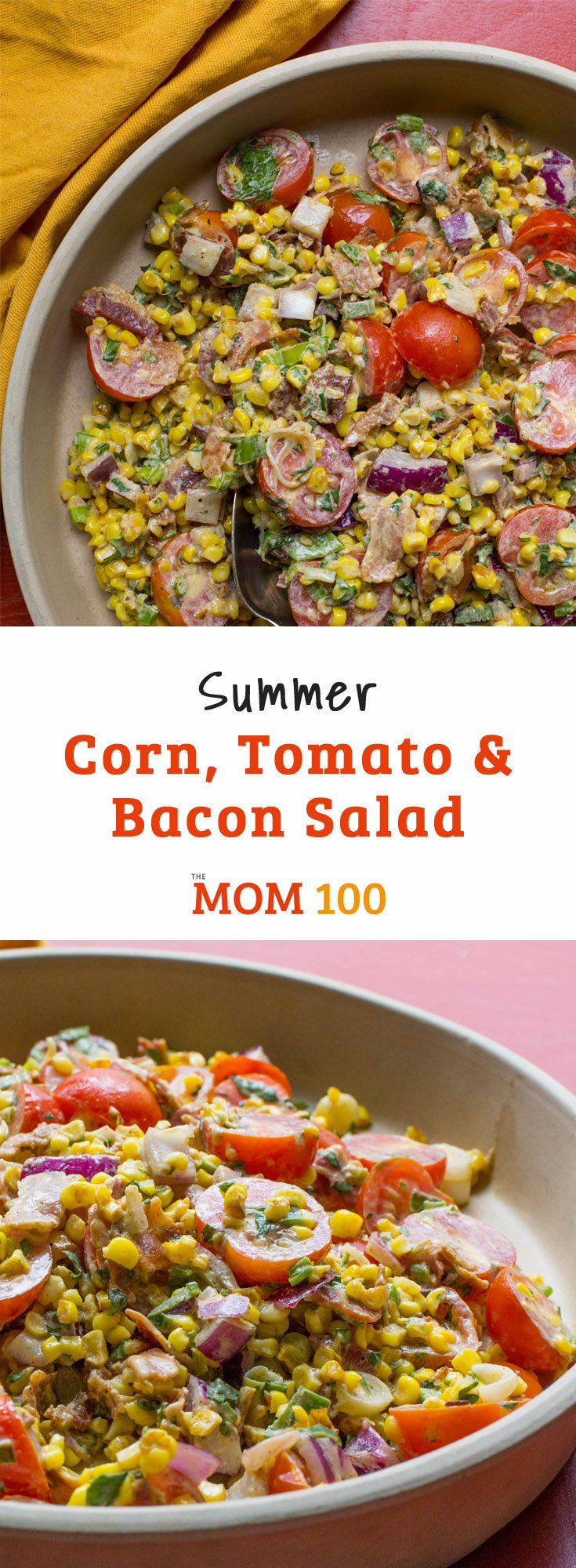 This Summer Corn, Tomato and Bacon Salad highlights the two biggest produce of the season: corn and tomato. Pair it with wheat berries or lettuce.