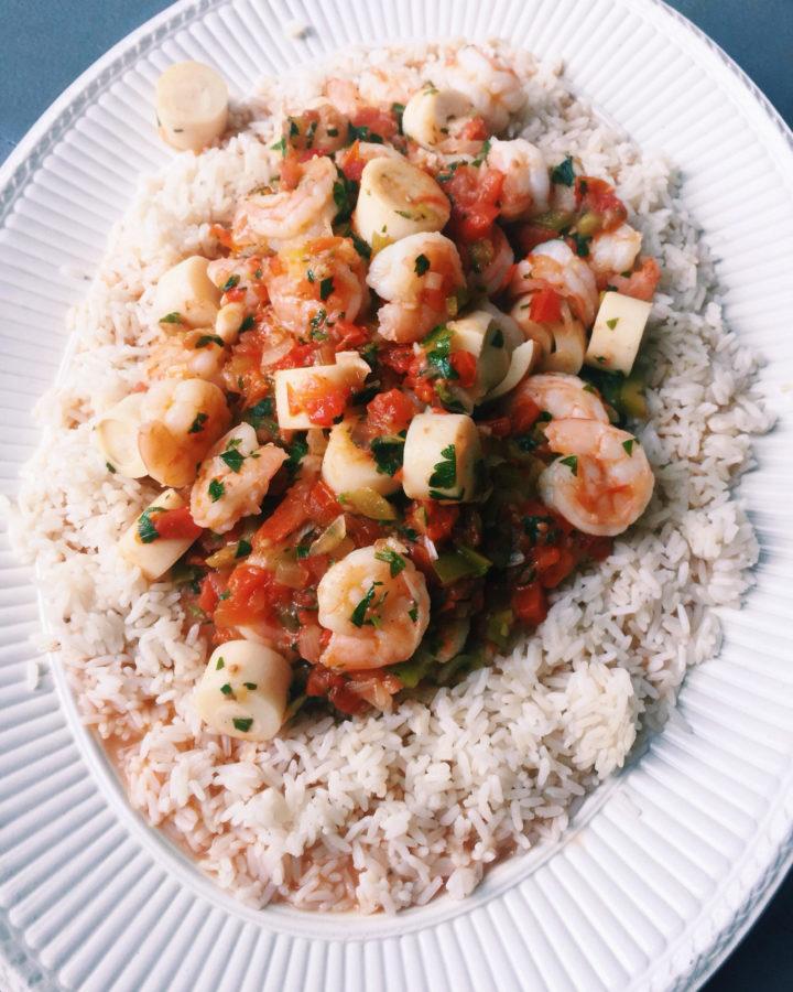 Casserole of Shrimp and Hearts of Palm (Camarões com ...