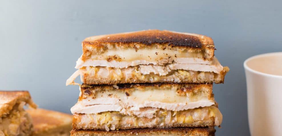 Turkey Reuben Sandwiches / Sarah Crowder / Katie Workman / themom100.com