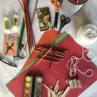 Thanksgiving Craft Table / Katie Workman / themom100.com