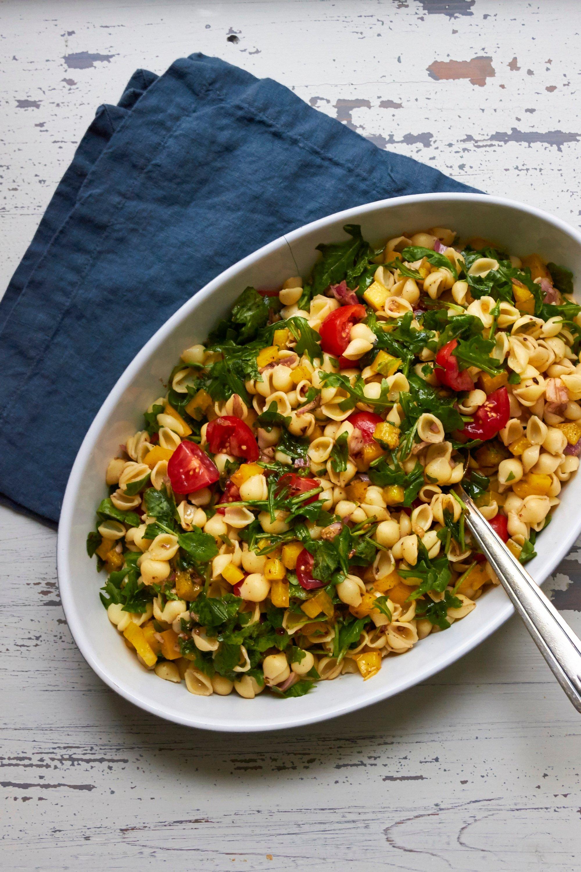 Simple Vegetarian Pasta Salad – The Mom 100 The Mom 100