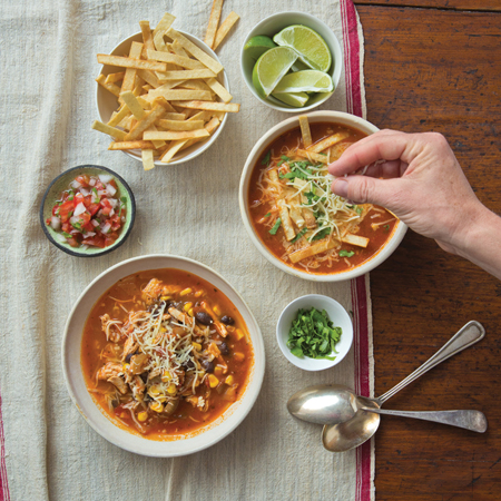 January 2018 - 5 Great Soups