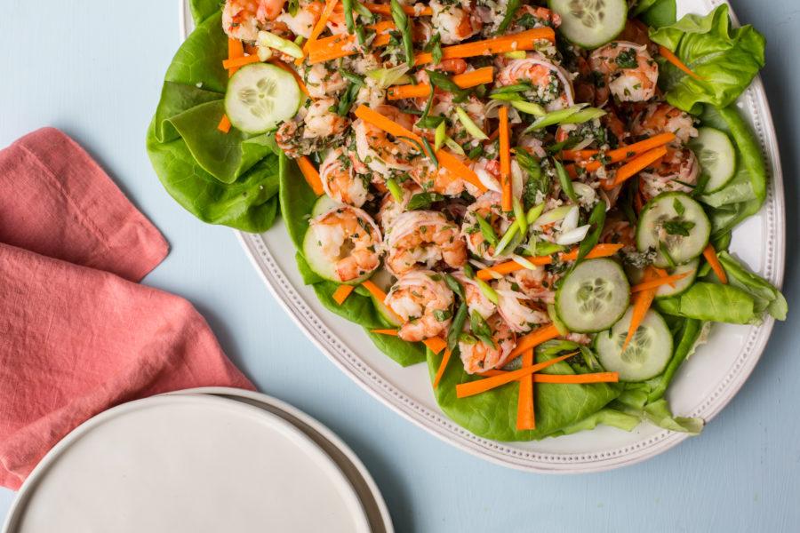 Vietnamese Shrimp Salad / Sarah Crowder / Katie Workman / themom100.com