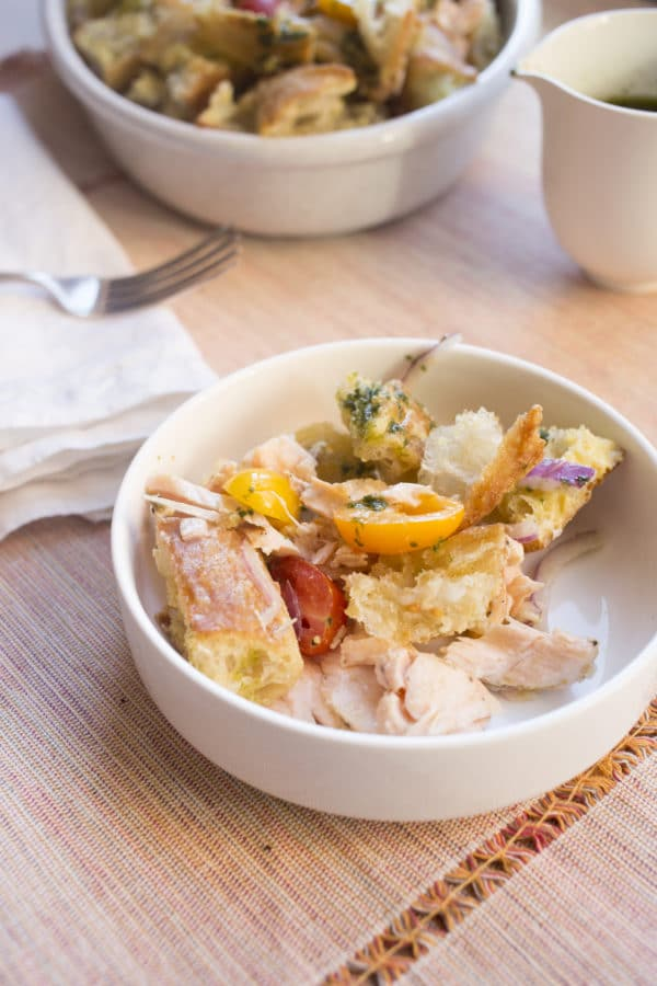 Panzanella Salad Recipe / Lucy Beni / Katie Workman / themom100.com