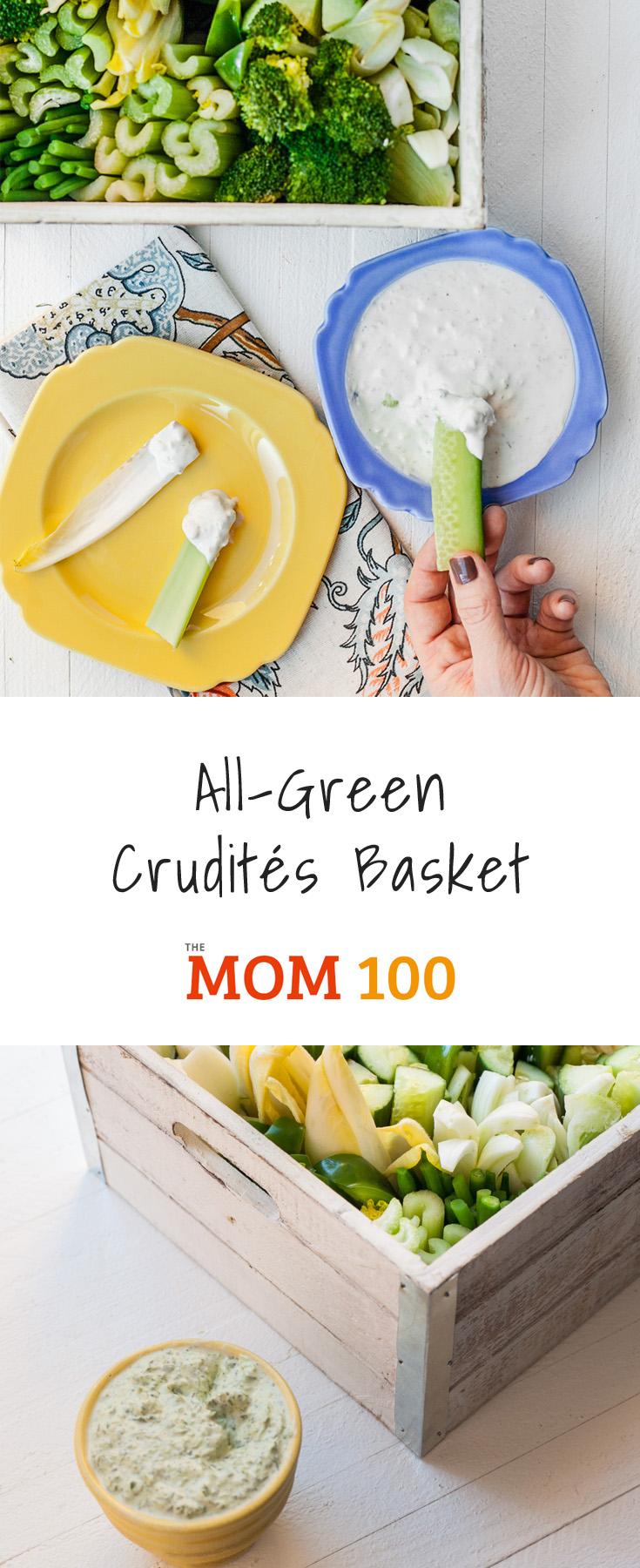 All-Green Crudite Basket