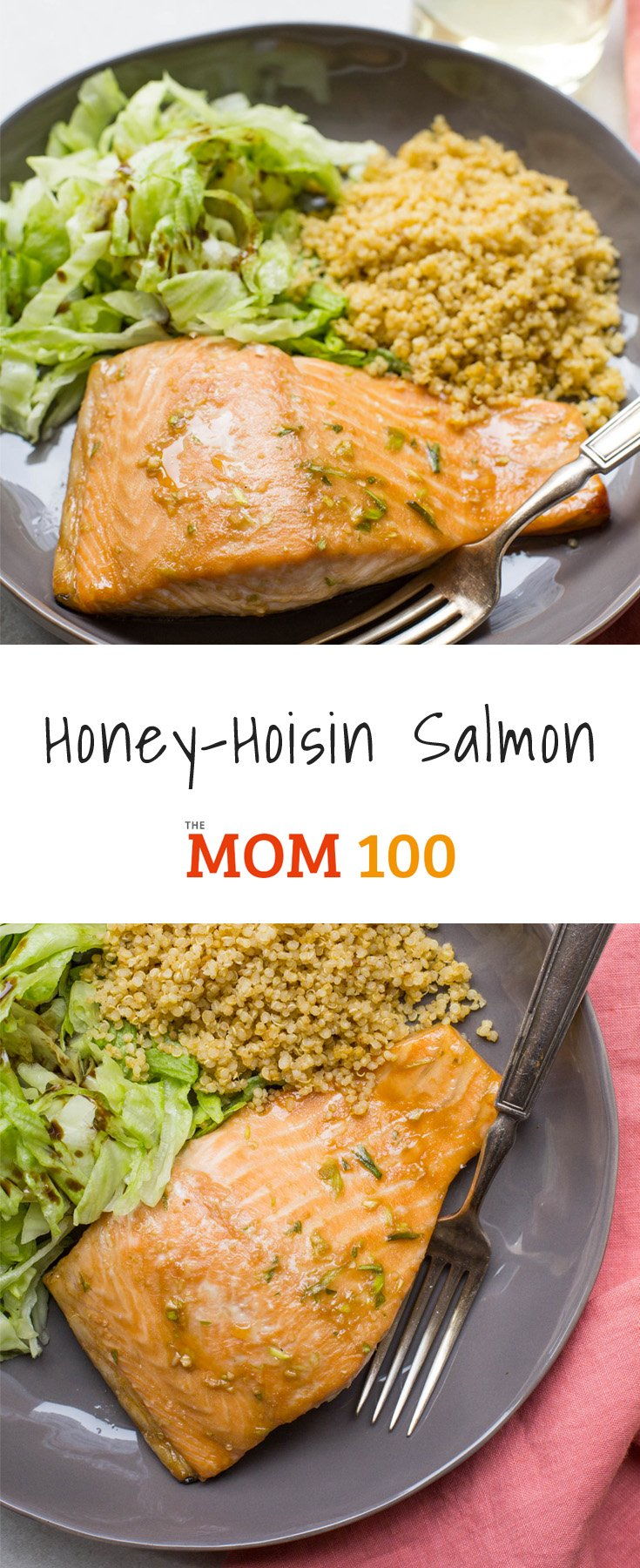 When in doubt about how to get kids to embrace fish, head over to the Asian part of your pantry and make this Honey-Hoisin Salmon.