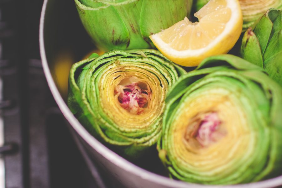 Steamed Artichokes / Photo by Danielle MacInnes on Unsplash