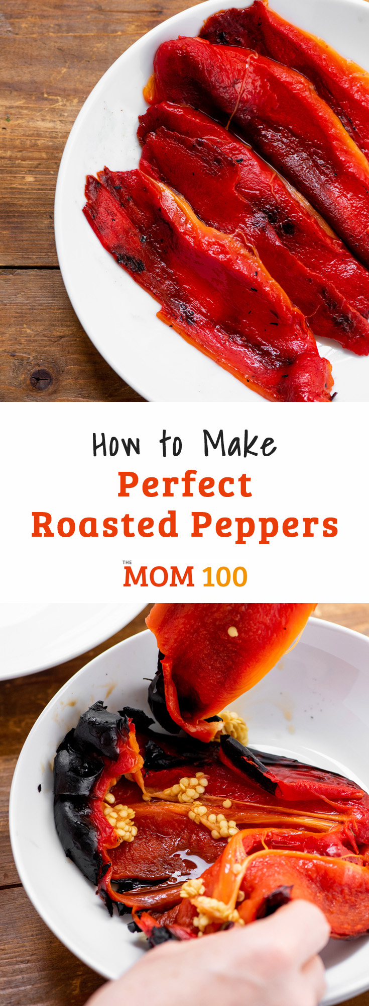 How to Make Perfect Roasted Peppers: Make those smoky, silky lush pepper at home in minutes.... and then use them all week long.