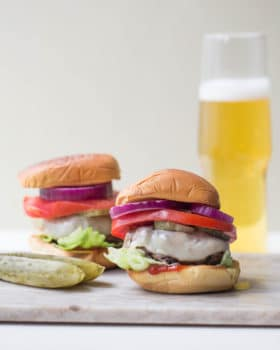 Deviled Burgers / Sarah Crowder / Katie Workman / themom100.com