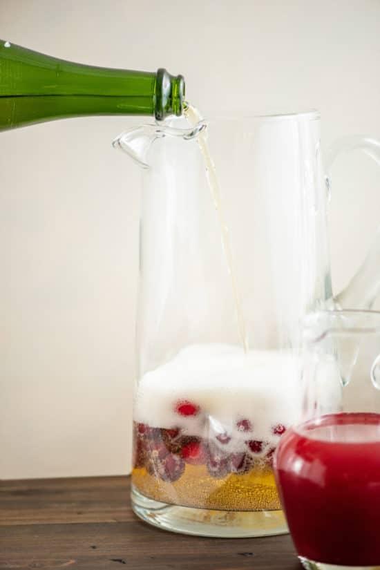 Cranberry Cocktail Recipe / Katie Workman / themom100.com / Photo by Cheyenne Cohen