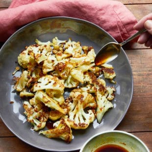 Cauliflower with Sesame Drizzle