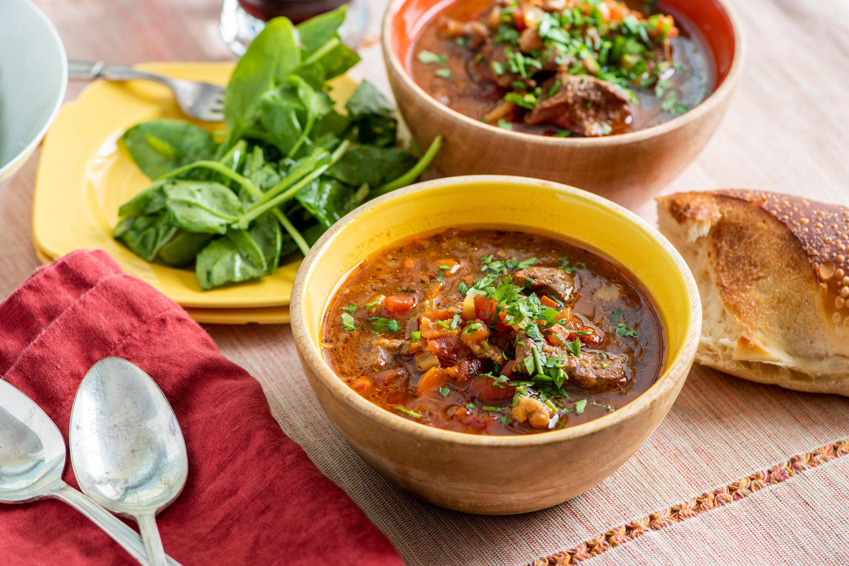 Instant Pot Mediterranean Lamb Stew The Mom 100