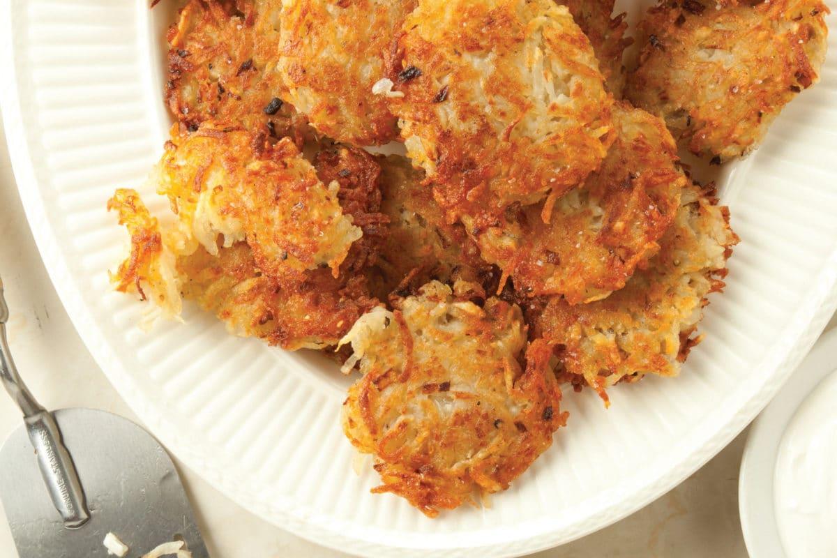 Favorite Crispy Potato Pancakes (Latkes)