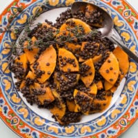 Black Lentil and Butternut Squash with Provencal Vinaigrette / Sarah Crowder / Katie Workman / themom100.com
