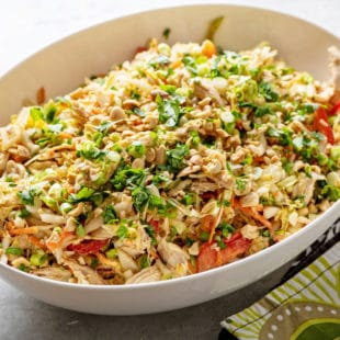 Indonesian Chicken Salad