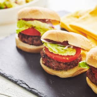 Chipotle Beef Burgers