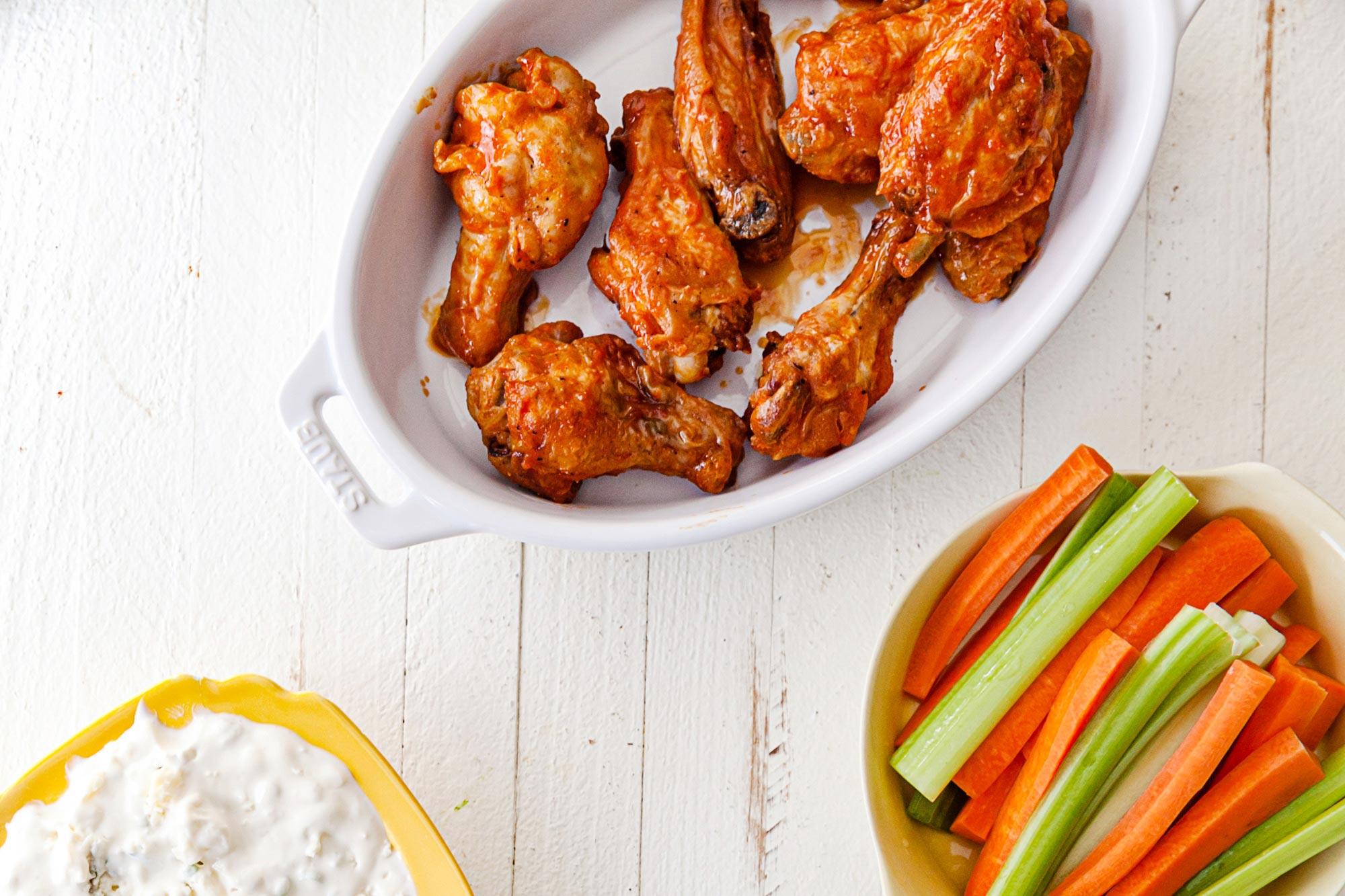 Air Fryer Buffalo Chicken Wings Recipe The Mom 100