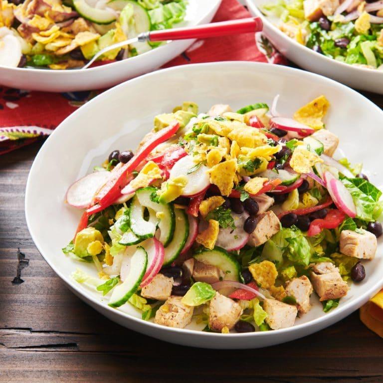 Southwestern Chicken Taco Salad Bowl