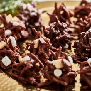 S'Mores Haystack Cookies