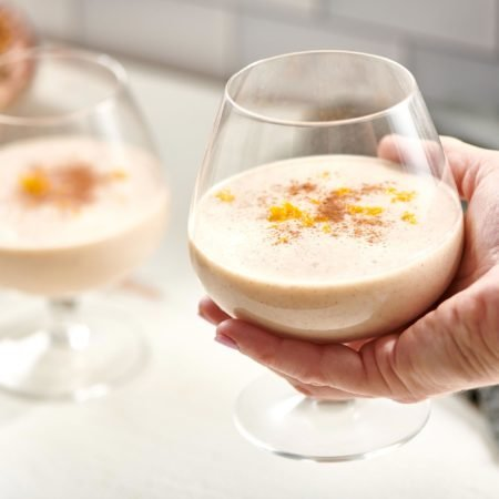 Homemade (Eggless!) Egg Nog