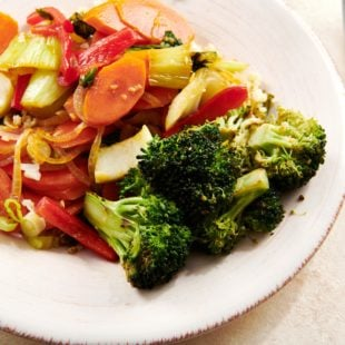 Simple Stir-Fried Vegetables