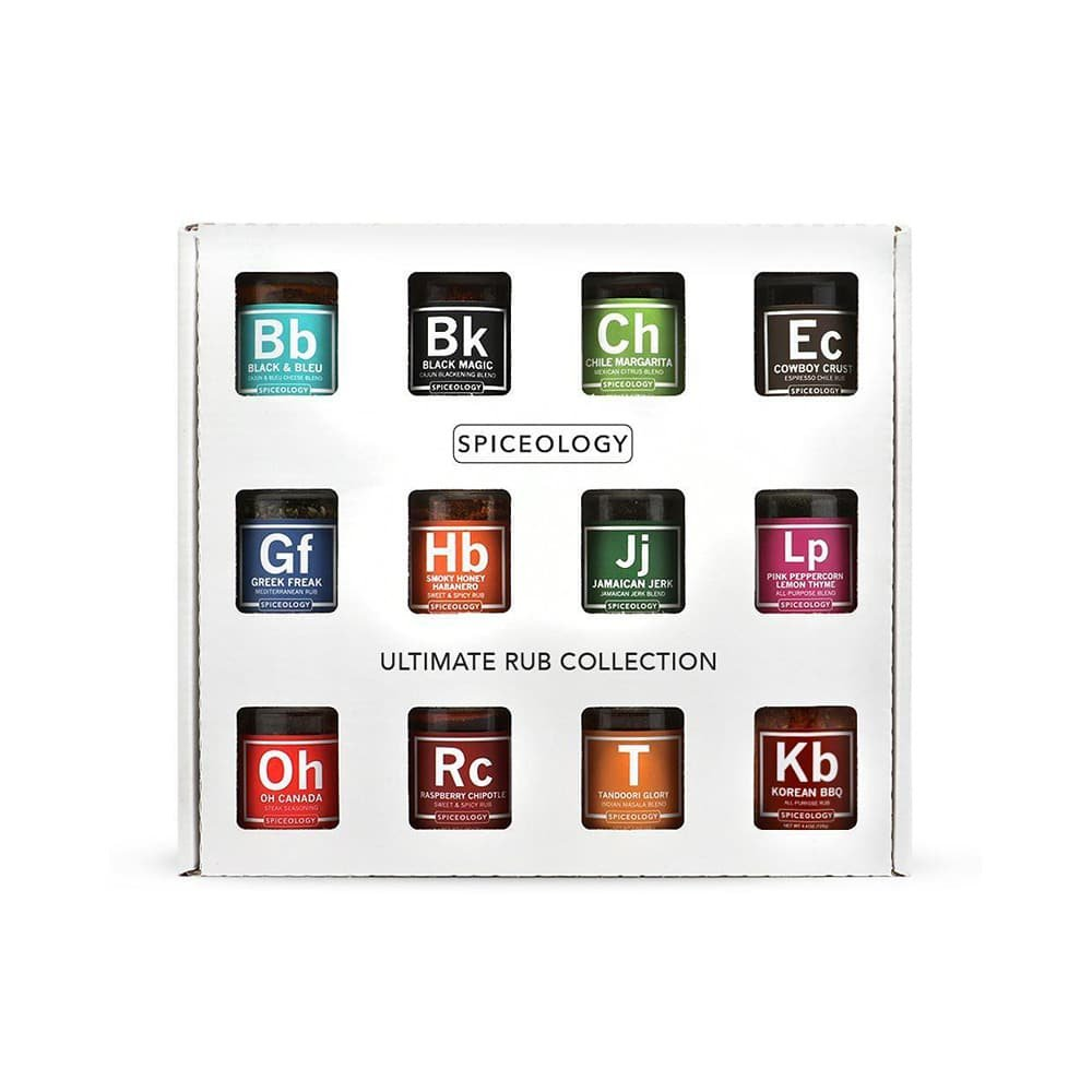 Spiceology Ultimate Rub Collection